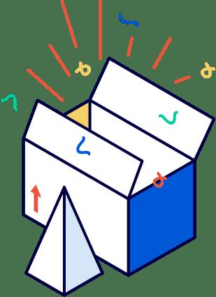 HubShip packaging conta